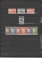 10 TIMBRES FEZZAN NEUFS** & * DE 1948-1950-1951  Cote : 55,60 € - Timbres