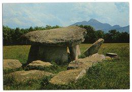 CPM   74  REIGNIER     LA PIERRE AUX FEES - Dolmen & Menhirs