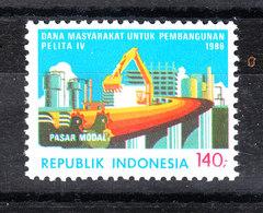 Indonesia - 1986. Ponte Sopraelevato. Elevated Bridge. MNH - Ponti