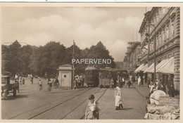 Finland   HELSINGFORS Esplanadgatan Tram  RP  Fin15 - Finlande