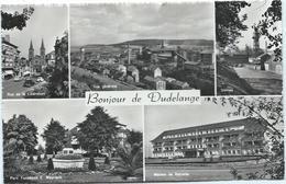 Dudelange - Multivue Avec Usines, Maison De Retraite, Rue De La Libération.... - Dudelange