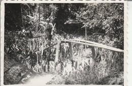 Vietnam : NGA-BA-NGHOI : Un Pont : 1947 : ( 8,5cm X 5,8cm ) Photo Militaire - - War, Military