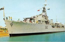 Canada - H.M.C.S. Haïda - A World War II And Korean War Veteran Destroyer - Royal Canadian Navy - Photo A.J. Pelett - Canada