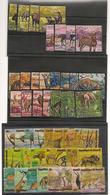 BURUNDI Animaux Sauvages D'Afrique Années 1971/75 N° Y/T :434/37**- Et P.A. N° Y/T: 191/214**-368/71** Côte : 132,00 € - 1970-79: Neufs