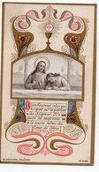 SOUVENIR DE PREMIERE COMMUNION  MARIE LOUISE DUBOIS EGLISE DE SAINT PATERNE  1900 GENEALOGIE GENEALOGIE - Devotion Images