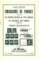 FRANCE EP Semeuses + Les Galvanos Avec Barres + Les Roulettes Par Col. LEBLAND 1961 N° 317 / 400 état Neuf - Entiers Postaux