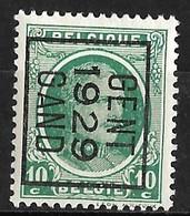 Gent 1929 Typo Nr. 198B - Voorafgestempeld