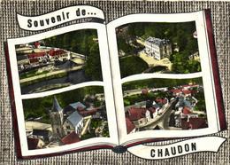 1 Cpsm Souvenir De Chaudon - France