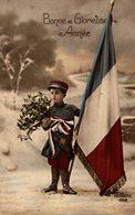 BONNE ET GLORIEUSE ANNÉE RÉDIGÉE POUR L'ANNÉE 1916 - Neujahr