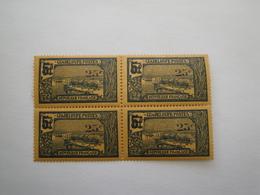 1924/7  Guadeloupe  Yv 89 X 4 ** MNH Bateaux Ships Cote 4.48 €  Michel 86 Scott 86 SG 95 - Guadeloupe (1884-1947)