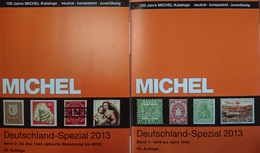 Catalogue MICHEL SPÉCIAL ALLEMAGNE 2013 - 2 VOLUMES - Catalogues