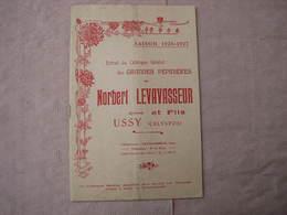 Catalogue 1926-1927 PEPINIERES NORBERT LEVAVASSEUR Et FILS  à USSY ( Calvados) - F. Trees & Shrub