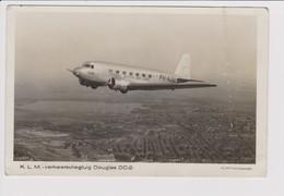 "Vintage Rppc Competitor LONDON-MELBOURNE Airrace In 1934 KLM Douglas Dc-2 Named ""Uiver"" No 12 - 1946-....: Ere Moderne"