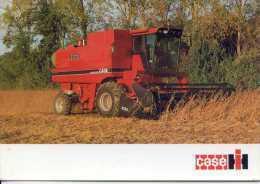 Carte Publicitaire Moissonneuse Batteuse  CASE IH  AXIAL-FLOW  1660  190cv - Tractors