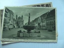 Duitsland Deutschland Rheinland Pfalz Speyer Marktplatz Mit Denkmal - Speyer