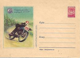 COR202 - URSS -MOTO MOTOCICLISMO - INTERO POSTALE - Moto