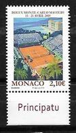 Monaco 2019 - Yv N° 3168 ** - Rolex Monte-Carlo Masters - Monaco