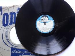 Fonit - Anni '50.  Serie  2102 . Marlon Brando  E  Jean Simmons - 78 G - Dischi Per Fonografi