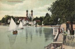 CARTE POSTALE ORIGINALE ANCIENNE : FRIEDRICHSHAFEN  ANIMEE ALLEMAGNE - Friedrichshafen