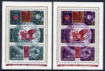 SOVIET UNION 1973 Cosmonauts Day  Blocks MNH / **...  Michel Block 85-86 - Raumfahrt