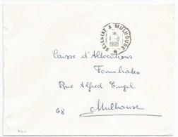 R64 - Convoyeur SELESTAT A MULHOUSE - 1968 - Ferroviaire - - Alsace-Lorraine