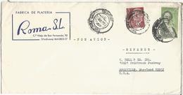 MADRID CC SELLO ESPRONCEDA LITERATURA - Escritores