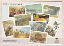 Jubiläums Post Karten , Serie 5 , Vom Postillion Zum Telefon , 500 Jahre Post - Post & Briefboten