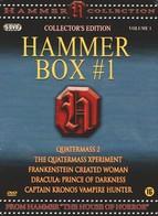 HAMMER BOX # 1 - 5 DVD - QUATERMASS - FRANKENSTEIN - DRACULA - CAPTAIN KRONOS - PAYS-BAS - Horror