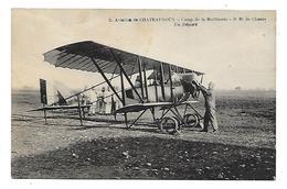 36 Dèp.- Aviation De Chateauroux - Camp De La Martinerie - 3e Rt De Chasse. Un Départ. Carte Postale écrite Au Dos. Légè - Chateauroux