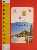 TEL.1 SCHEDE TELEFONICHE - SEYCHELLES ANSE SOURCE D' ARGENT LA DIGUE - Seychellen