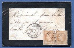 Enveloppe De Lecendre  - Pour St Germain Lembron  --  15 Dec 1870 - 1849-1876: Période Classique