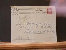 83/561  LETTRE ALLEMAGNE  POUR LA SUISSE   1925 - Briefe U. Dokumente