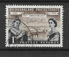 BECHUANALAND  1960 The 75th Anniversary Of Bechuanaland Protectorate USED - Bechuanaland (...-1966)