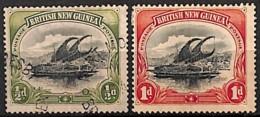 [829580]Papouasie 1901 - N° 1/2, Lakatoi Sur La Rivière Mambara, Bateau - Papouasie-Nouvelle-Guinée