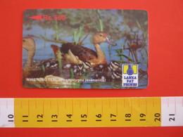 TEL.1 SCHEDE TELEFONICHE - 1996 SRI LANKA CEYLON 500 RS. GERMANO REALE WHISTLING TEAL - Sri Lanka (Ceylon)