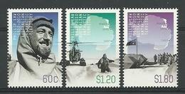 Australia AAT 2012 Phillip Law Centenary  Y.T. 197/199 ** - Australisches Antarktis-Territorium (AAT)