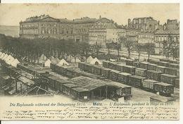 57 - METZ / L'ESPLANADE PENDANT LE SIEGE De 1870 - Metz