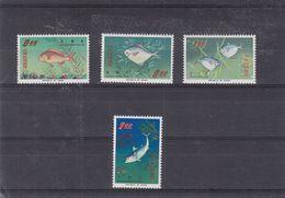 Poissons - Formose - Taiwan - Yvert 518 / 21 ** - MNH - Valeur 50 Euros - 1945-... République De Chine