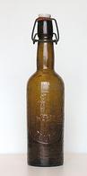 Ancienne Bouteille Bière Soufflé Brasserie WEBEL  (St. ELOI). Tours, Av. 1970 - Bière