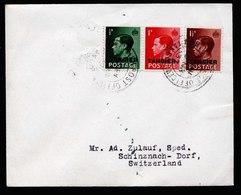 A5946) UK Tangier Tanger Brief 16.03.37 N. Schinzach / Schweiz - Postämter In Marokko/Tanger (...-1958)