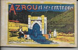 Afrique Maroc AZROU Et Ses Environs - Carnet De 25 Cartes Détachables Edition MARS  Photo FLANDRIN Cartes N° 1 à 25 - Maroc