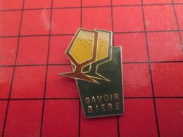 313e Pin's Pins Rare Et De Belle Qualité !!! / THEME : BIERE / VERRES DE PRESSION LE SAVOIR BIERE - Bière