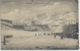 CPA Chasseurs Alpins Dept 05 BRIANCON Timbre Contre La Tuberculose - Briancon