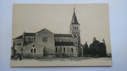 Carte Postale ( N9 ) Ancienne De Grury , L église Et Son Presbytére - Autres Communes