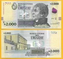 Uruguay 2000 Pesos Uruguayos P-92b 2015 (Serie B) UNC - Uruguay