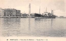 ¤¤  -  EGYPTE   -  PORT-SAÏD   -  Vue Du Port  -  View From The Harbour  -  Cargo  -  ¤¤ - Port Said
