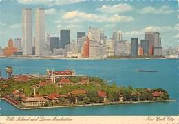 Etats-Unis - New York City - Ellis Island And Lower Manhattan - Twin Towers - Tours Jumelles - World Trade Center - Ellis Island