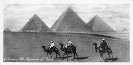 ¤¤  -  EGYPTE   -  LE CAIRE  -  CAIRO   -  The Pyramids Of Gizeh  -  Voir Description  -  ¤¤ - Cairo