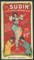SZÁMOLÓ CÉDULA 1910-20. Cca. Régi Reklám Grafika , Szűcs Jenő Műfogspecialista  /  Vintage Adv. Graphics BAR TAB Ca 1910 - Alte Papiere