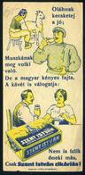"""SZÁMOLÓ CÉDULA 1910-20. Cca. Régi Reklám Grafika , """"oláhnak A Kecske Tej, """"muszkának Meg Vutki""""  /  Vintage Adv. Graphic - Alte Papiere"""
